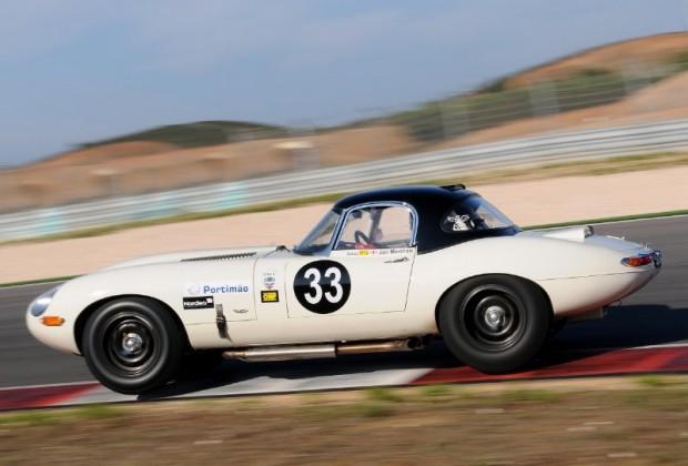 Jaguar E-Type John Minshaw Algarve Historic Festival