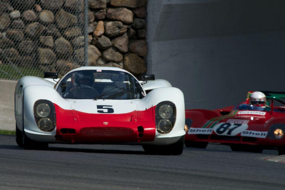Michael Malone's 1968 Porsche 908.