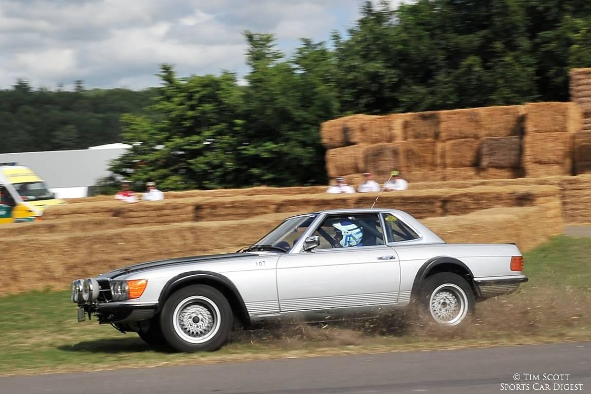 1980 Mercedes-Benz 500 SLC rally car