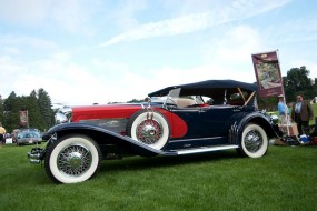 Duesenberg Model J Dual Cowl Phaeton, Best of Show 2010 Concours of America