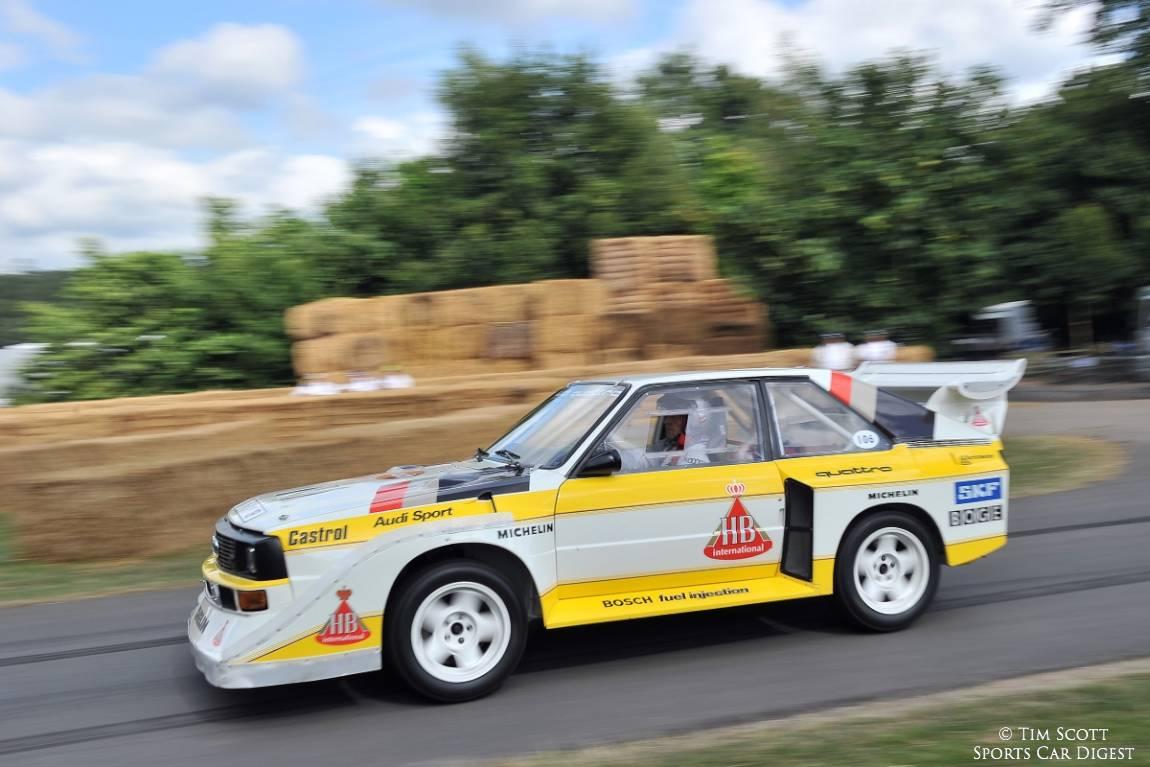 Audi Sport Quattro S1 driven by Hannu Mikkola