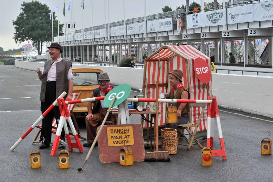 Goodwood Revival 2013 - Behind the Scenes