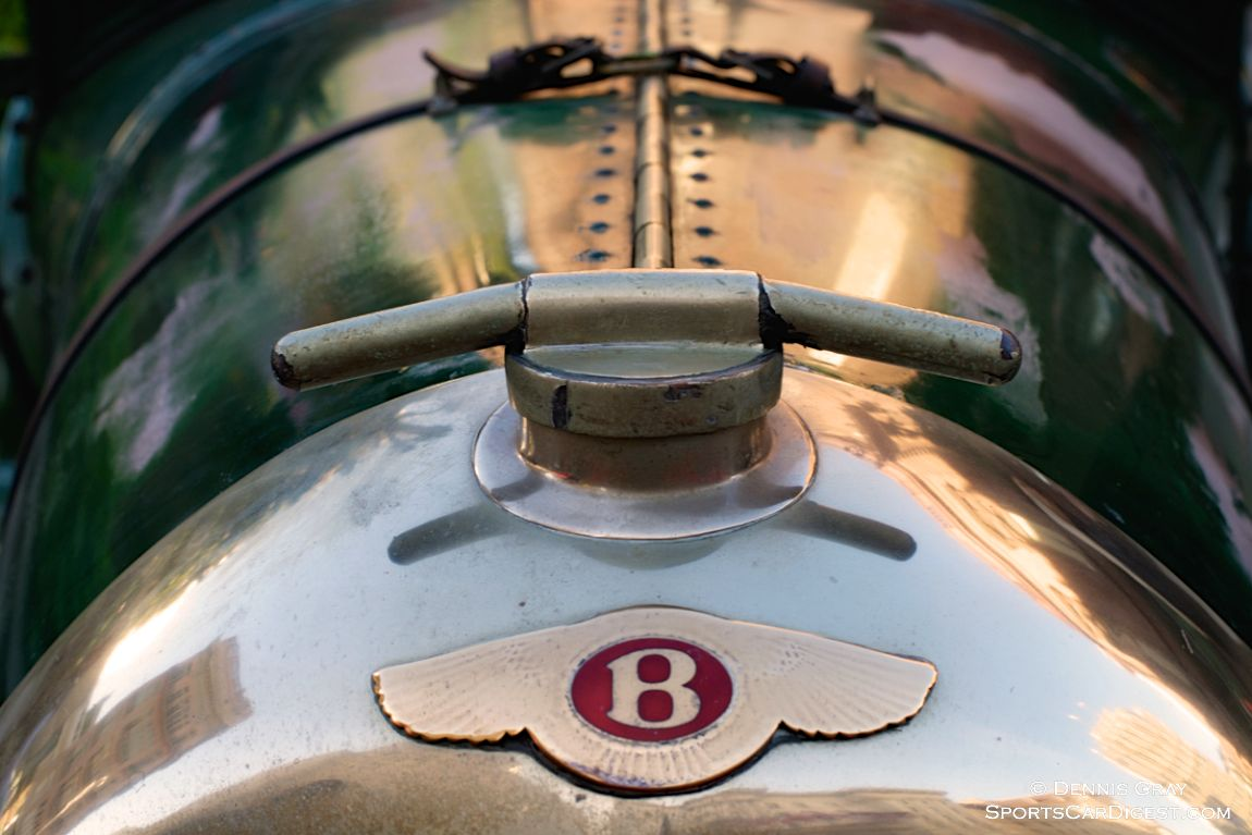 1927 Bentley 3 Liter driven by Frank and Leah Gabrielli.