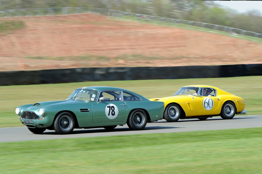 Aston Martin DB4 GT and Ferrari 250 GT SWB Berlinetta