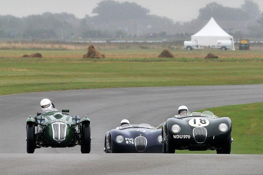 Frazer-Nash Le Mans Replica and Jaguar C-Types