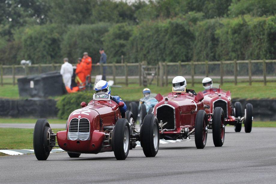 Maserati 6CM and Alfa Romeo Tipo B P3s