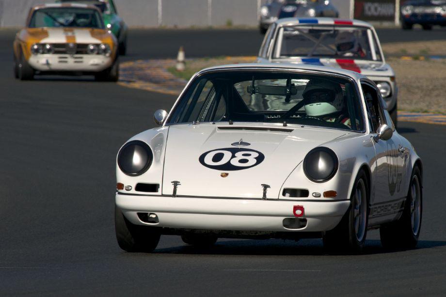 1967 Porsche 911S driven by Ron Erickson.