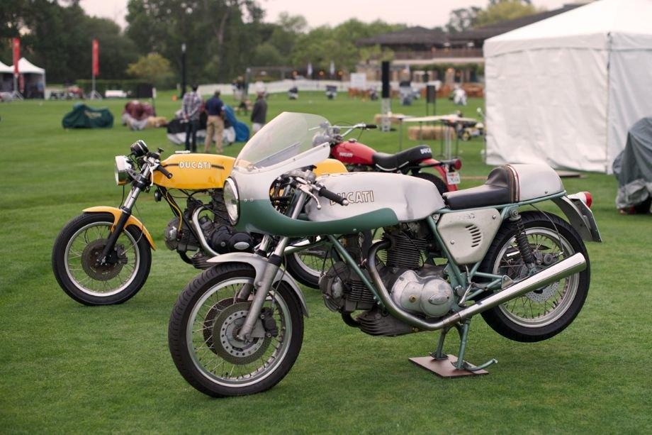 Green frame 1974 Ducati 750 Super Sports