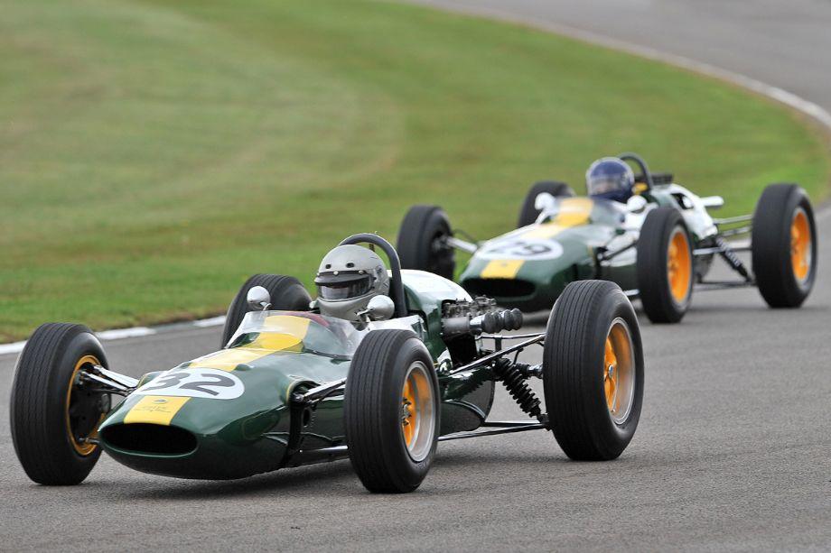 Lotus Grand Prix race cars