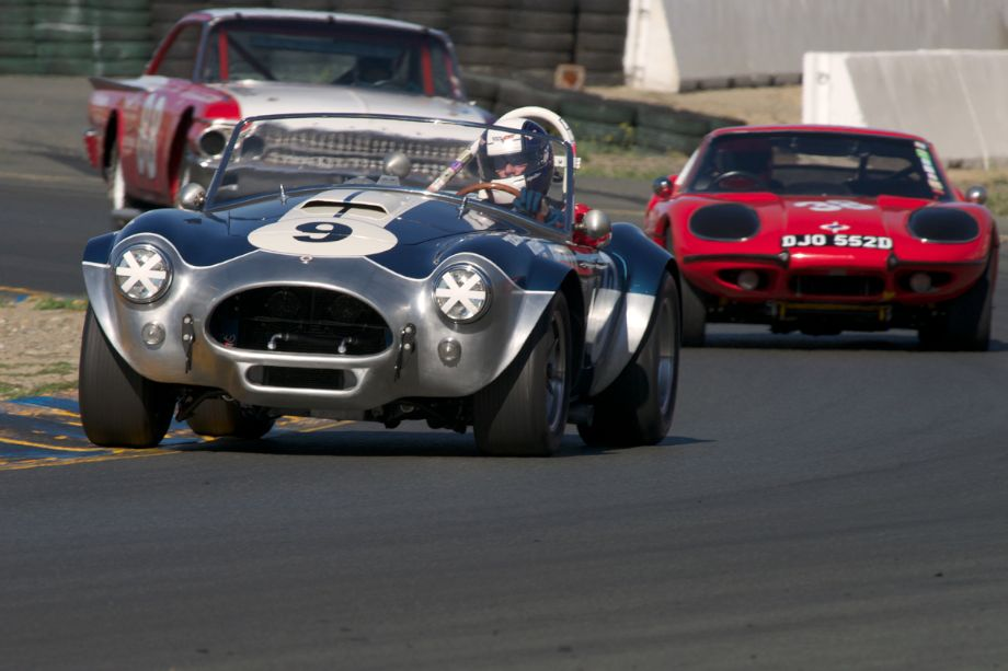 1964 Cobra driven by John Goodman exiting turn ten.