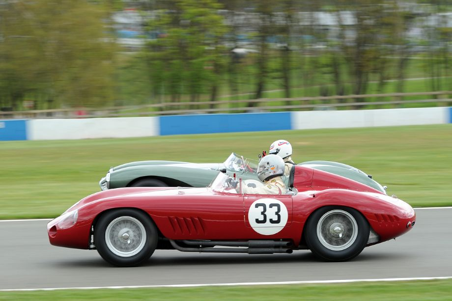 Maserati 300S and Aston Martin DB3S
