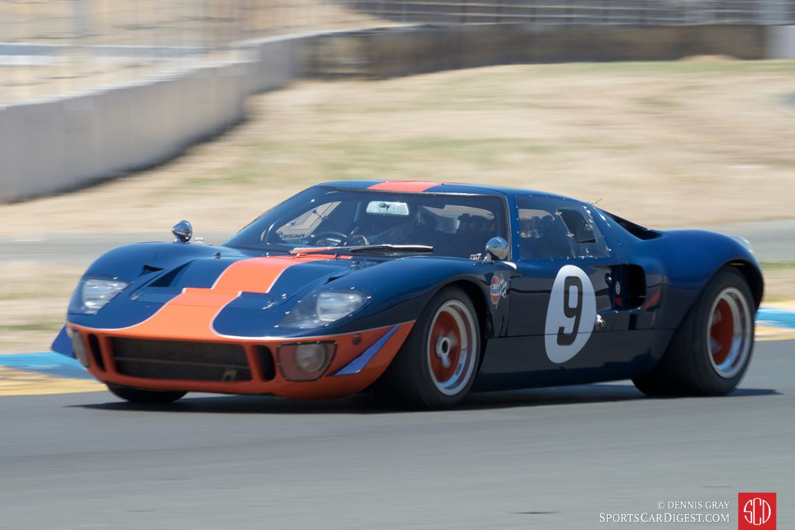 Alex MacAllister's 1964 Ford GT40.