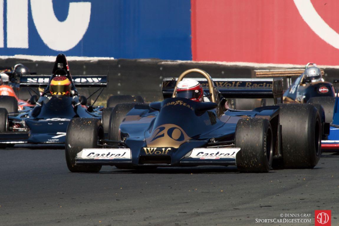 Eddie Lawson - 1977 Wolf WR4.