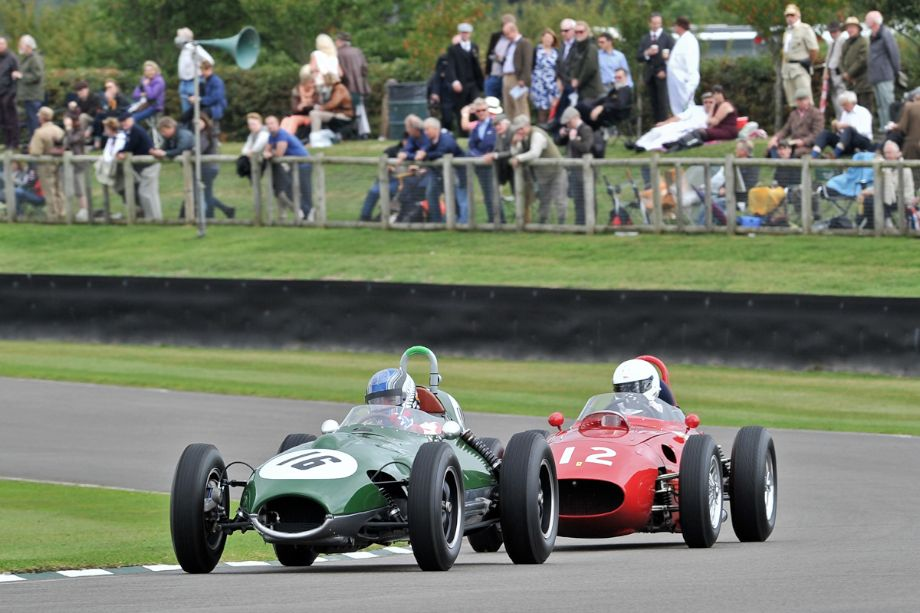 Lotus-Climax 16 and Ferrari 246 Dino