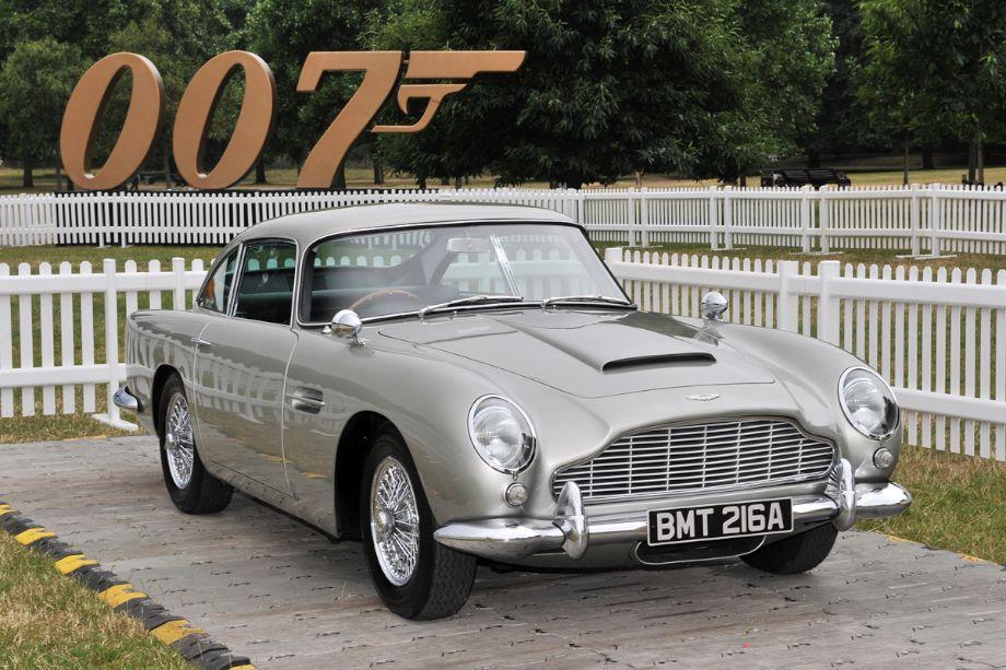 Aston Martin DB5 from the latest James Bond movie, Skyfall