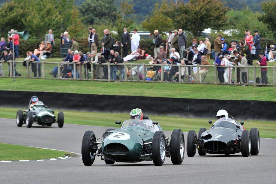 Aston Martin DBR4 and BRM Type 25