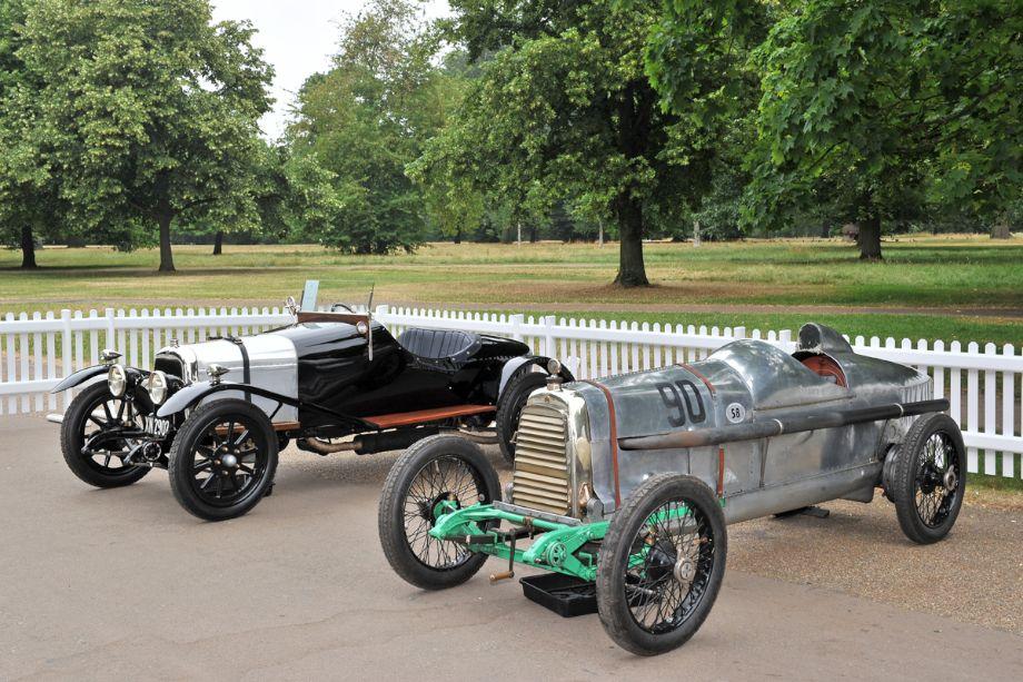 1922 Aston Martin Race Car and 1921 Aston Martin A3