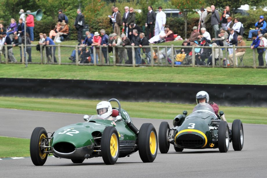 Lotus-Climax 16 and Connaught A-Type