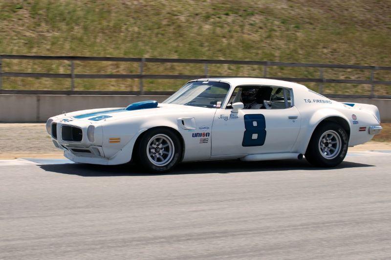 1972 Jensen Healey driven by Joe Huffaker in turn two.