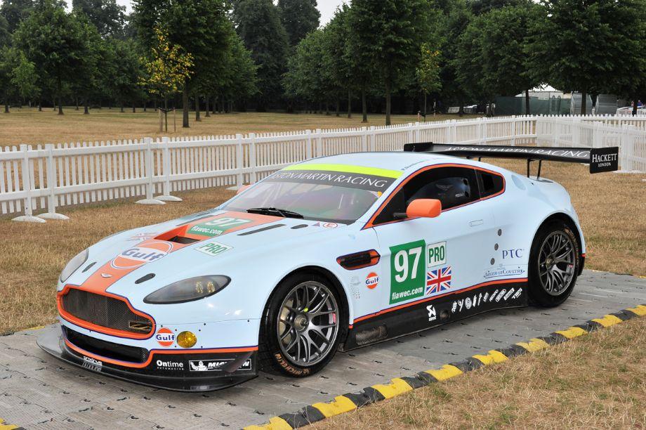 Gulf-liveried Aston Martin DBR9 GT1