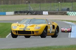 Ford GT40 at Donington