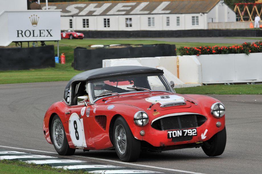 Race winning Austin-Healey 100/6