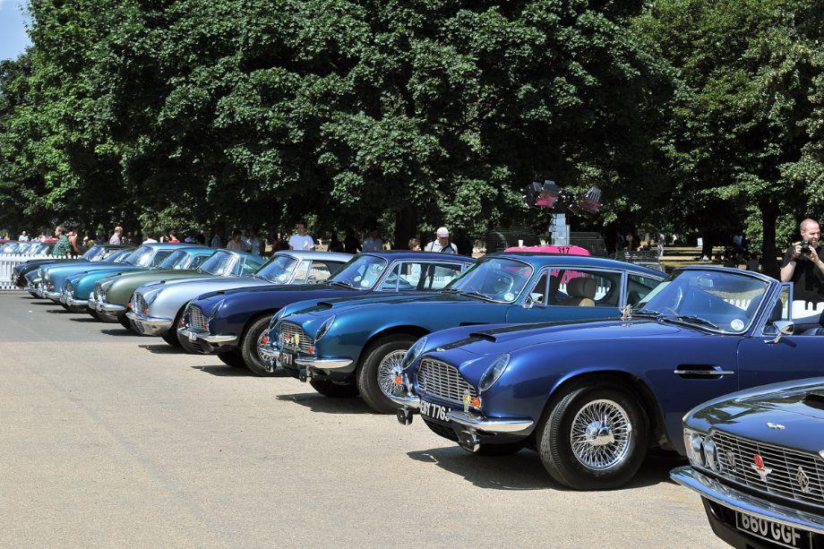 Aston Martin Line-up