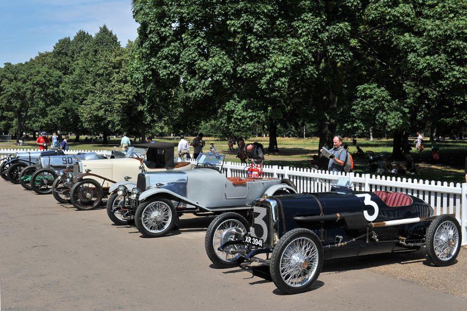 Pre-War Aston Martin line-up