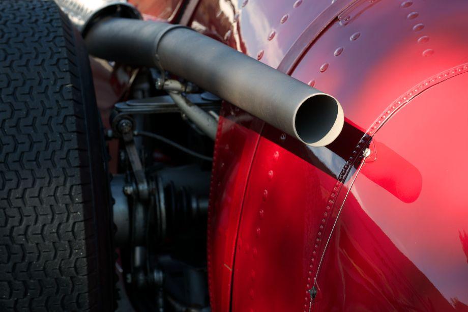 Maserati 250F detail