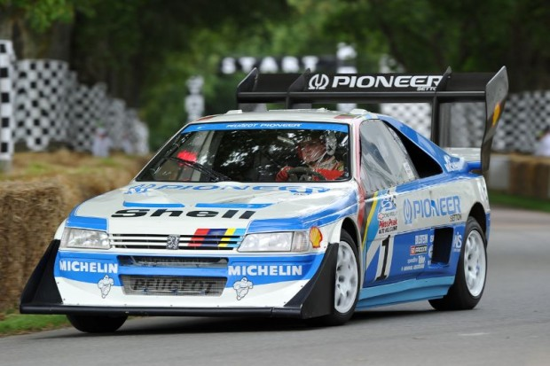 1988 Peugeot 405 Turbo 16 GR Pikes Peak