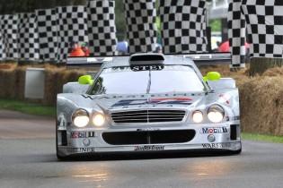 Mercedes-Benz CLK GTR driven by Klaus Ludwig and Bernd Schneider