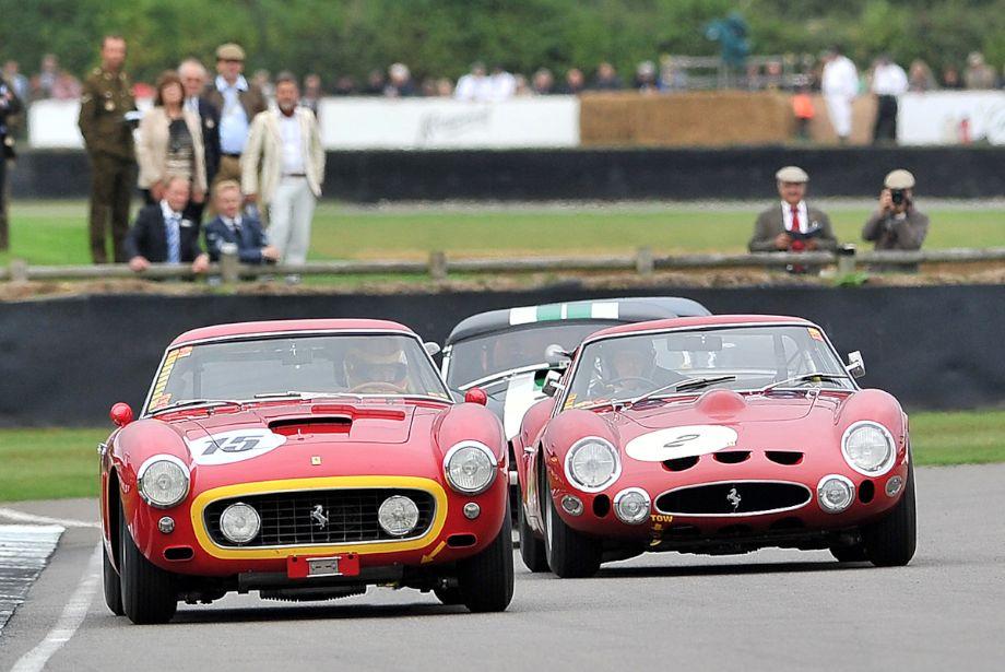 Ferrari 250 GT SWB Berlinetta Competition and Ferrari 330 GTO
