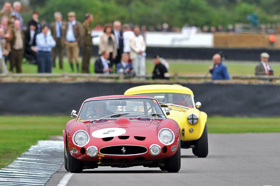 Ferrari 330 GTO and AC Cobra 289 'Hairy Canary'