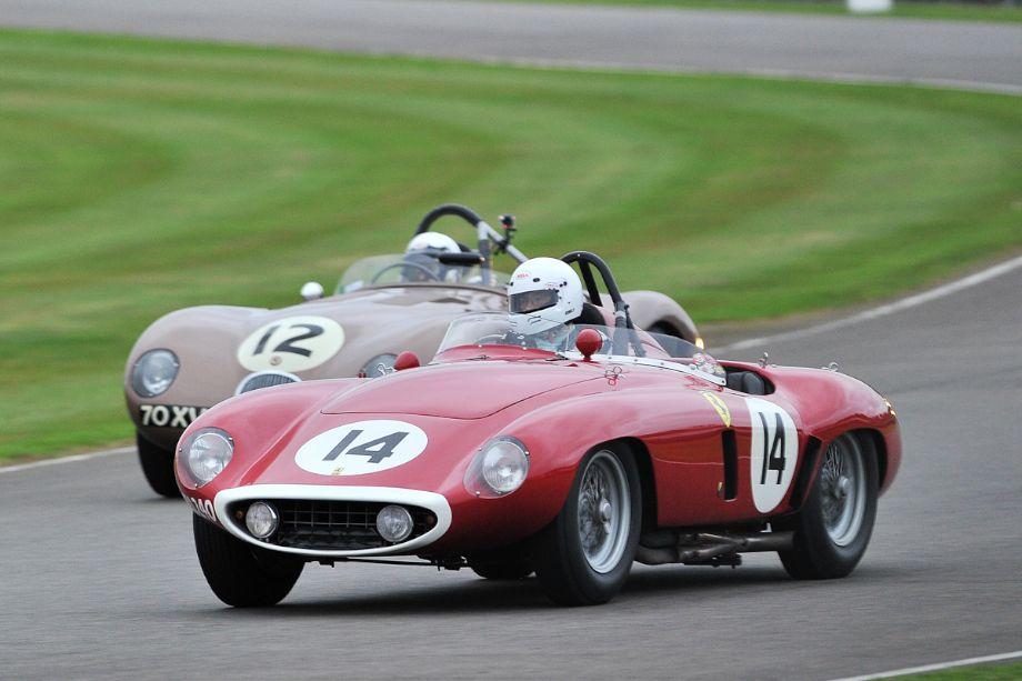 Ferrari 750 Monza and Jaguar C-Type