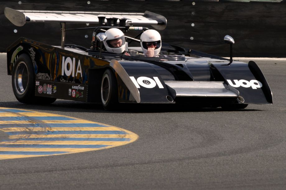 Charity Challenge. Have you ever wanted to ride in a real Can-Am car?Six individuals donated $375.00 each for three hot laps with Dennis Losher in his Shadow Mk.II.