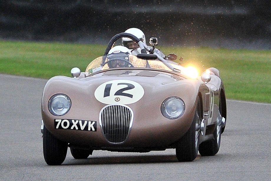 Race winning Jaguar C-Type