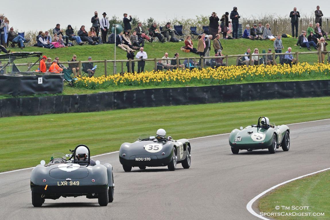 Allard J2, Jaguar C-Type and Aston Martin DB3S
