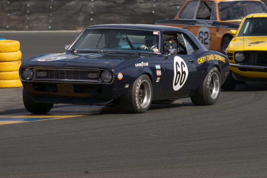 1968 Chevrolet Camaro driven by John Hildebrand.