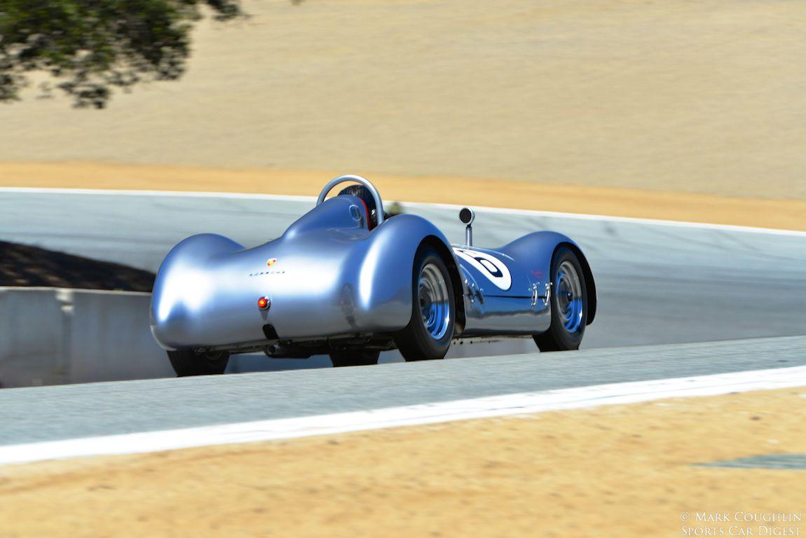 1955 Porsche Special Pupulidy Spyder of Frank Altamura