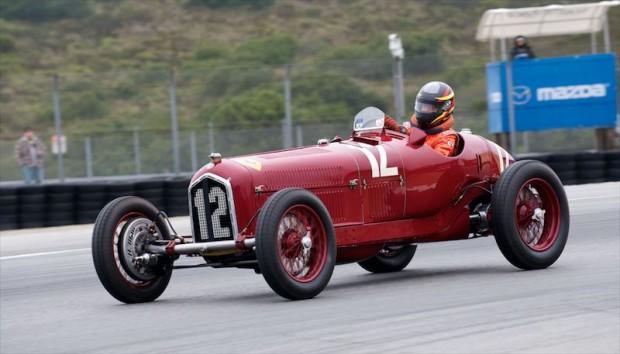 1934 Alfa Romeo Tipo B P3, Laguna Seca, Tazio Nuvolari