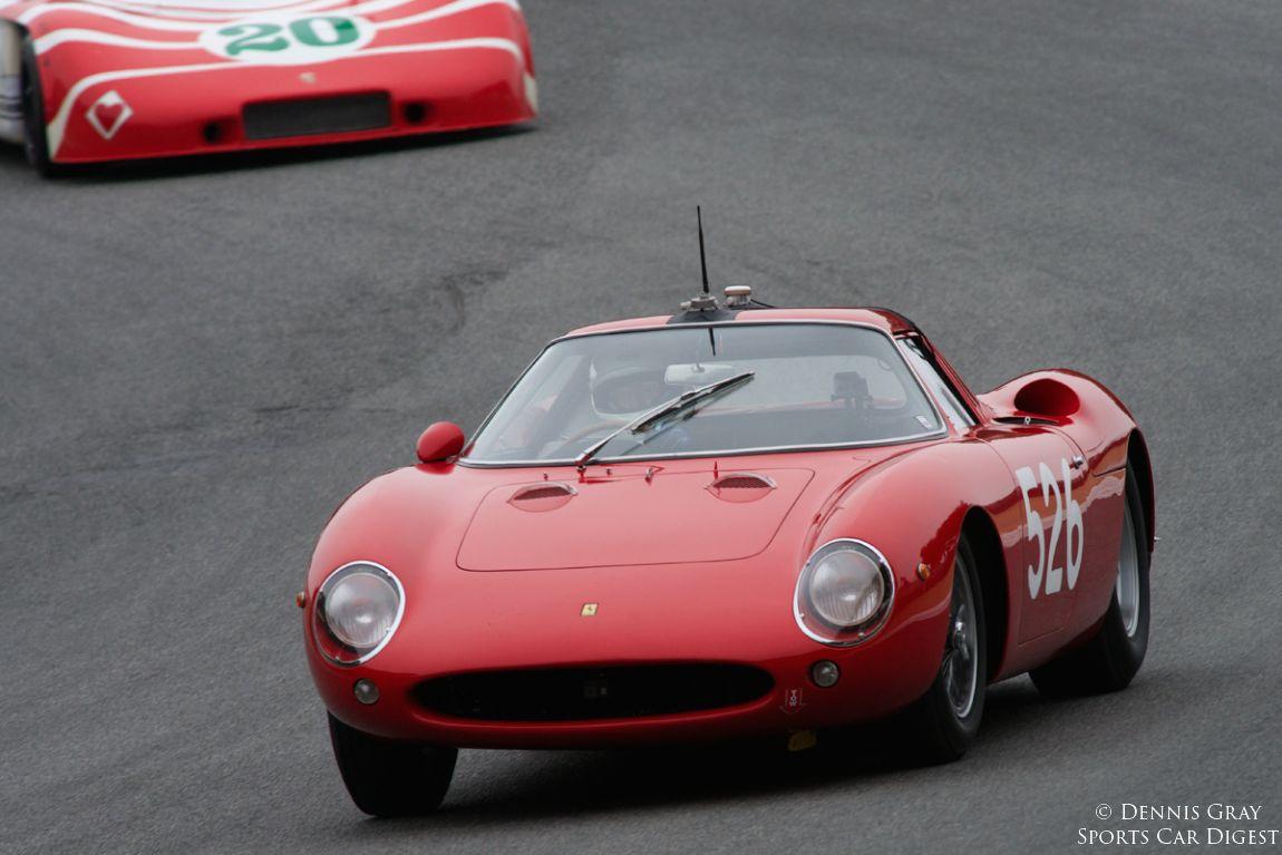 John Morton in Gunnar Jeanette's Ferrari 250LM Berlinetta GT.