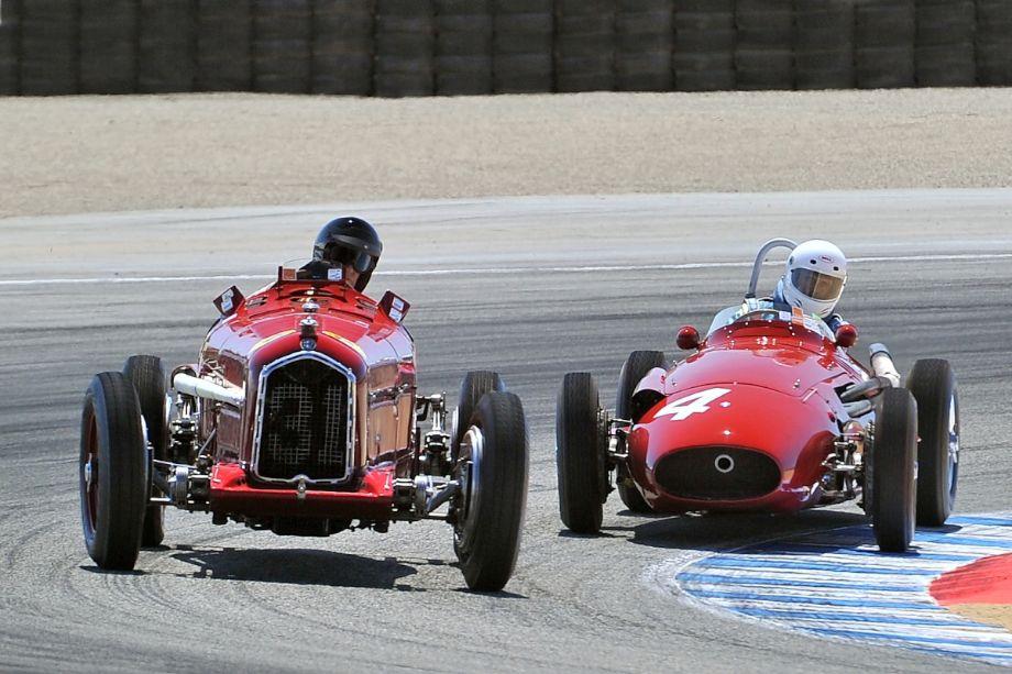 Alfa Romeo Tipo B P3 and Maserati 250F