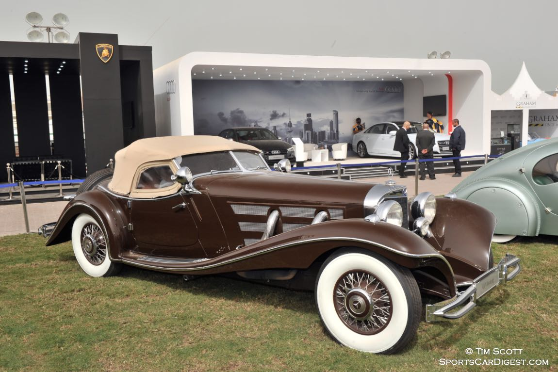 1938 Mercedes-Benz 500K Roadster