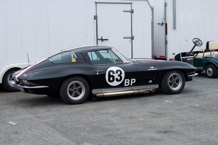 1963 'Split Window' Corvette with Fuel Injection.