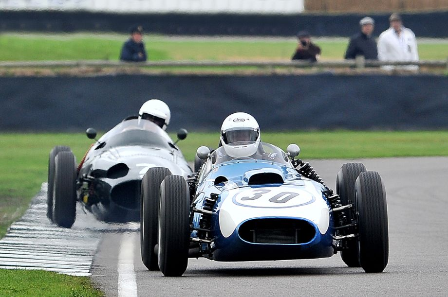Scarab-Offenhauser and BRM Type 25