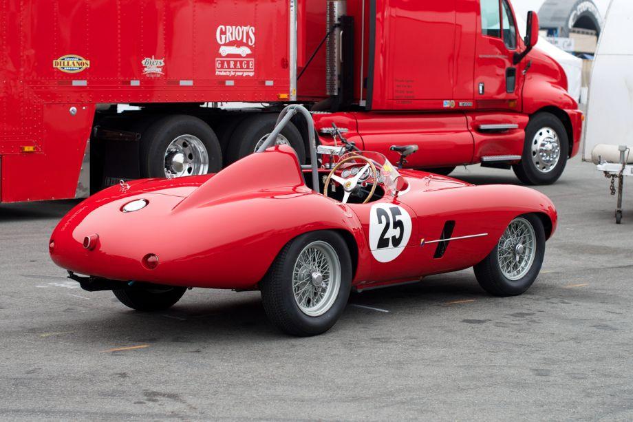1954 Ferrari Mondial Spider.