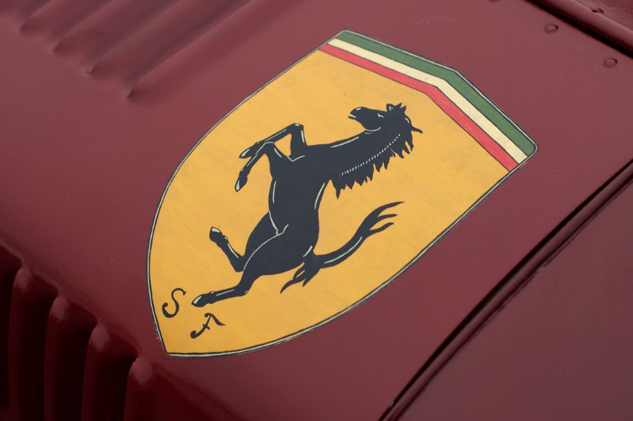 Pre-war Scuderia Ferrari badge.
