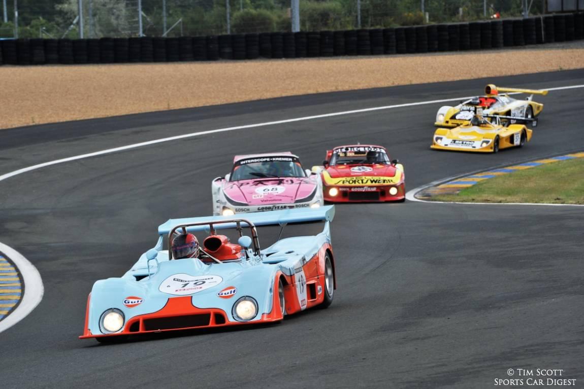 Race winning 1973 Gulf Mirage of Chris MacAllister