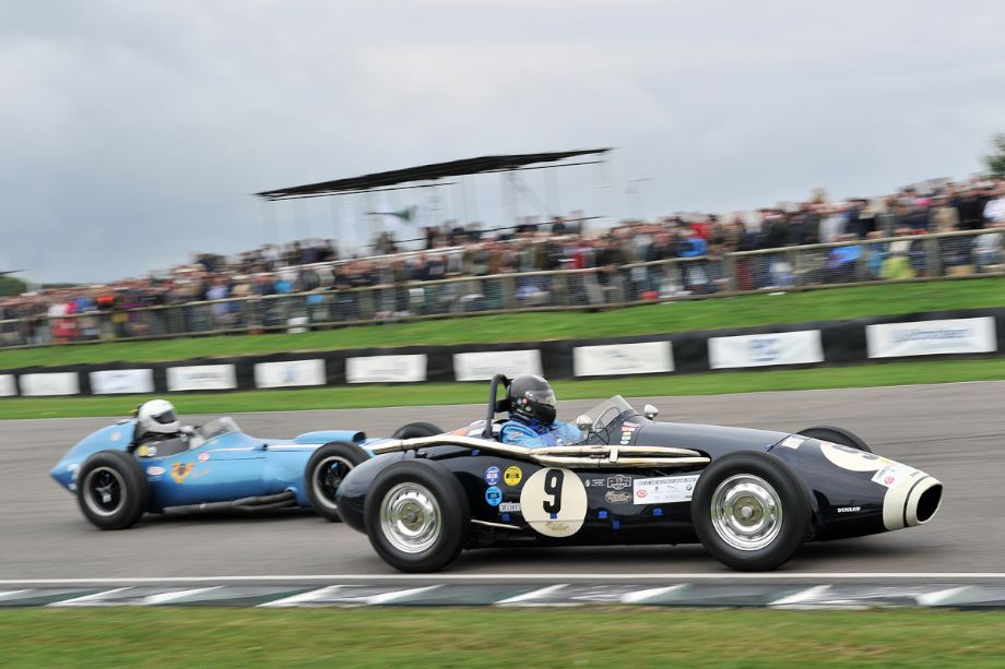 Connaught B-Type and Scarab-Offenhauser