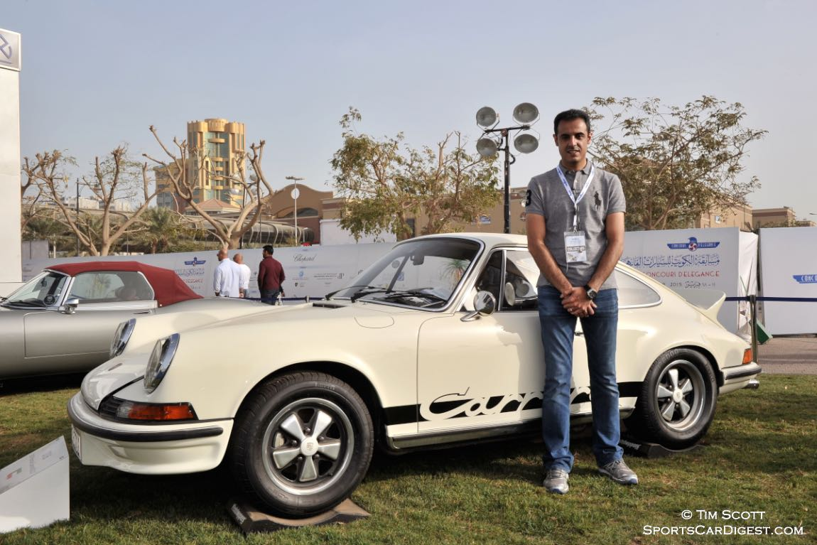 Proud owner of the Best European Car-Winning 1973 Porsche 911 Carrera RS 2.7